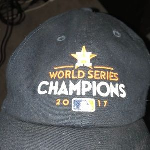 9ccd6c4fd28a8c 47 Accessories | Limited Edition Houston Astors World Series Cap ...
